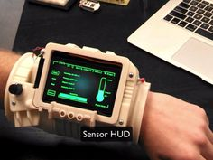 Working Pip-Boy 3000 designed for astronauts: A 3D-printed prototype wearable designed for astronauts takes its inspiration directly from the screens of the Fallout series.
