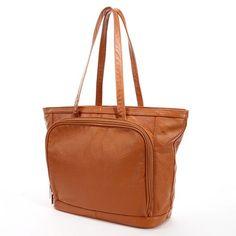 AmeriLeather Cosmopolitan Leather Tote ($94.50)