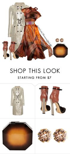 """""""Vionnet"""" by konata-phenomenalstyle ❤ liked on Polyvore featuring Burberry, Casadei, Vionnet, Rauwolf and Warehouse"""