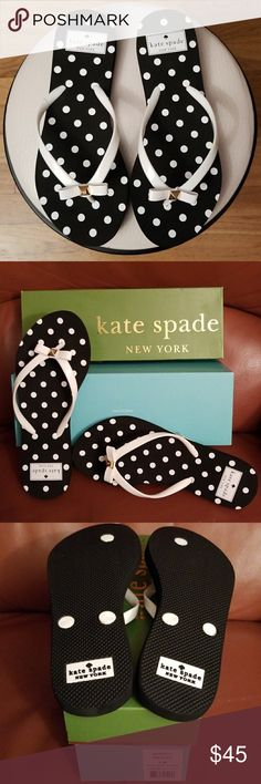 ♠ Kate Spade ♠ Shiny Diamond White Dots Sandals * New in Box kate spade Shoes Sandals