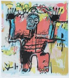 View Sans titre by Jean-Michel Basquiat on artnet. Browse upcoming and past auction lots by Jean-Michel Basquiat. Jean Basquiat, Jean Michel Basquiat Art, Modern Art, Contemporary Art, Bad Art, Keith Haring, Street Art Graffiti, Outsider Art, Figure Painting