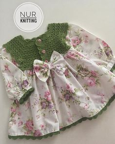 Best 12 Cotton dress of white flower print with tulle birthday girl outfit, girls easter dress, summer dress, newborn outfit – Kids frock Baby Girl Crochet, Crochet Baby Clothes, Girls Easter Dresses, Summer Dresses, Baby Knitting Patterns, Crochet Vest Pattern, Kids Frocks, Cotton Dresses, Baby Dress