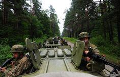 Estados Unidos lidera ejercicios de paz en Ucrania