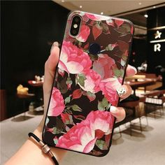 Rose Flowers Case For Xiaomi Redmi Note 7 Pro Case Mix On Redmi Note 6 pro note 5 Note Cases Cover Iphone 8 Plus, Iphone 7, Iphone Phone Cases, Friends Phone Case, 6 S Plus, Girly Phone Cases, Floral Iphone Case, 3d Rose, Note 7