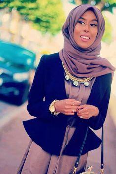 Basma K. such a talented modest fashion icon