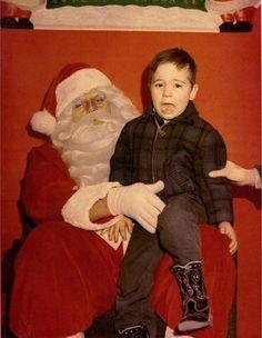Nope. Nope. Nope. | 23 inquietantes fotos de Santa Claus que te arruinarán las Navidades