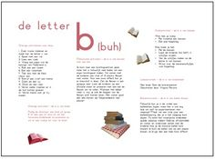 Letter van de week | Klas van juf Linda