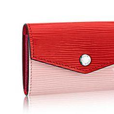 Louis Vuitton Folding Wallets Cute LOUIS VUITTON MultiChart Sarah EPI 3