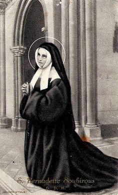 St. Bernadette | St Bernadette Soubirous, priez pour nous! | Flickr - Photo Sharing!