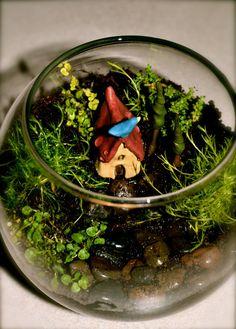 Fairy Garden  Terrarium quality Hobbit House  by HeyLittleSister, $7.00