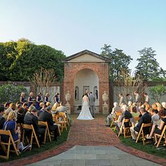 The ceremony took place at the Dumbarton House, the place where Dolly Madison sought shelter during the War of 1812, in the Georgetown neighborhood.