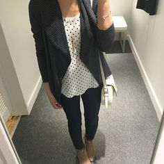 Lou & Grey Signaturesoft Open Jacket, size XS regular - review on www.whatjesswore.com