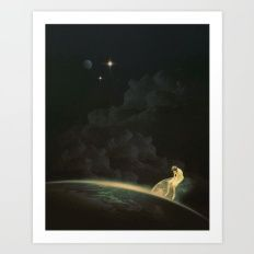 Alone With Nothing Art Print