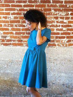 Emery Dress Sewing pattern by Christine Haynes | vintage-inspired dress pattern on Etsy, $18.00