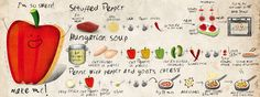 About sweet pepper! by Iwona Jasińska on TDAC