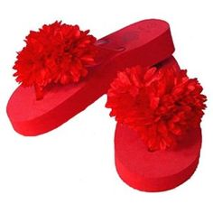New Flower Flip Flop Sandals ~ Red 13 (Apparel)  http://www.amazon.com/dp/B002ECYP9E/?tag=worldshouts-20  B002ECYP9E