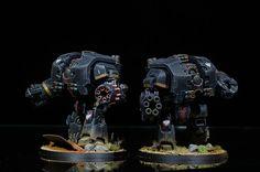Pre-Heresy Dark Angels Leviathan Dreadnoughts