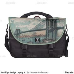 Brooklyn Bridge Laptop Bag