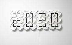 24 Analog Clocks Become A Digital Time Display | The Creators Project