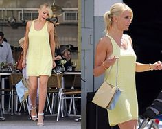 cameron diaz the other woman clothes yellow dress
