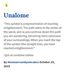 Image result for unalome tattoo meaning