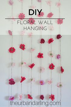 Floral, artificial flowers, floral hanging, flowers, wall haning, floral wall hanging, flower wall hanging, DIY, decorations, party