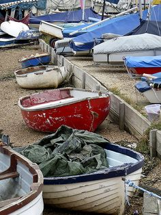 Small Boats by TruffleBunny, via Flickr