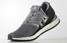 adidas Pure Boost RAW in silver & black