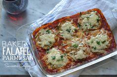 Baked Falafel Parmesan - Sarcastic Cooking