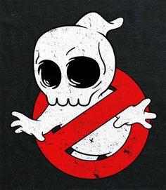 These Mike Mitchell Shirts Strip Pop Culture Favorites Down to Their Skulls #skulls #skullart