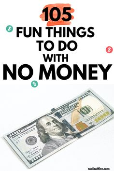 What things to do with no money? Here are 105 wonderful things to do with no money. Whether you're on a budget or trying a no spend challenge, you will have fun with these activities! #nospend #frugalliving #radicalfire #personalfinance #savemoney No Spend Challenge, Money Saving Challenge, Money Saving Tips, Money Hacks, Save Money On Groceries, Ways To Save Money, Budgeting Finances, Budgeting Tips, Money Activities