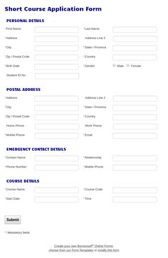Immunization Consent Form By Borneosoft Online Forms  Borneosoft