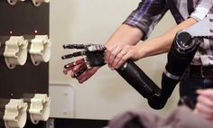 Electrodes implanted in the brain of a paralyzed man has allowed him to feel physical touch through a robotic arm. Meditation Exercises, Mindfulness Techniques, Fist Bump, Robot Arm, Willpower, Mindfulness Meditation, Arms, Canning, Feelings