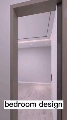Small Room Design Bedroom, Pooja Room Door Design, Home Room Design, Bathroom Design Small, Small House Design, Tyni House, Interior Ceiling Design, Bedroom Layouts, Decoration