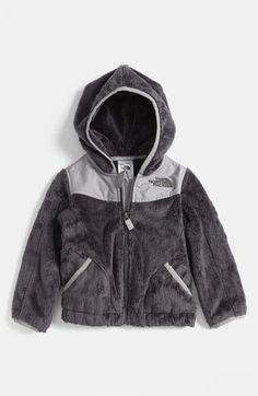 The North Face 'Oso' Hoodie (Baby Boys) (Nordstrom Exclusive) available at #Nordstrom SHUT UP! I have to buy this for moving home..