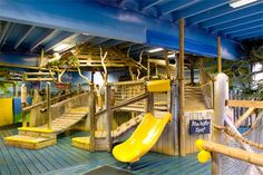 You may label this as a children's play area but adults are allowed to join in, right? #CPFamilyBreaks