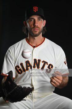 Madison Bumgarner Of The San Francisco Giants Poses During The Giants Madison Bumgarner San Francisco Giants San Francisco