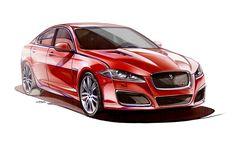 sketch car on Behance