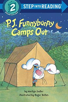P. J. Funnybunny Camps Out (Step into Reading):   Illus. in full color. Camping is not for girls, right? At least, that's what P.J. and his pals tell Donna and Honey Bunny when they want to tag along on a camping trip. But when two mysterious ghosts frighten the boys all the way home, only the girls know the real/i story.