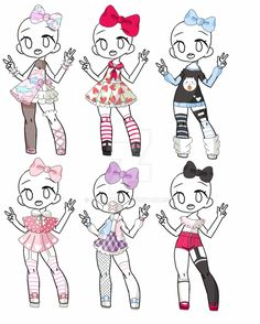 Outfit Adopt Set[Open] 5/6 by yuki-white