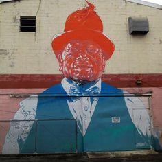 Street art in Honolulu, Hawaii, USA by Askew