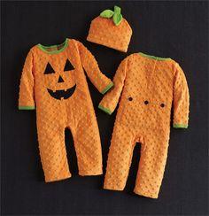Pumpkin One Piece & Hat | Baby | Mud Pie
