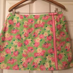Lilly Pulitzer skort Used great condition Lilly Pulitzer Skirts Mini