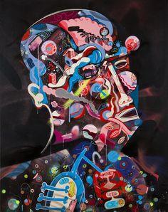 paintings by Sickboy