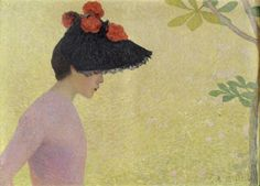 Profile of a Girl - Aristide Maillol 1890