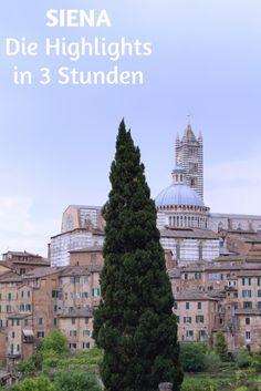 Die Höhepunkte Sienas in drei Stunden. Italien