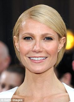 Beating the wrinkles: Gwyneth Paltrow has admitted to having a laser treatment called Thermage that helps beat her wrinkles