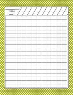 DATA COLLECTION SHEETS - STUDENT PROGRESS - TeachersPayTeachers.com