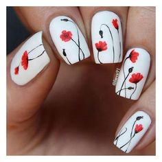 White Nails with Flowers www.prettydesigns … 20 Spring Nail Designs 2017 White Nails With Flowers 2 Nail Designs 2017, White Nail Designs, Nail Designs Spring, Cool Nail Designs, Pretty Designs, Nail Designs Floral, Floral Design, Floral Nail Art, White Nail Art
