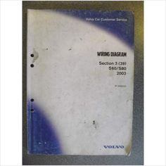 Volvo S60 S80 Wiring Diagrams Manual 2003 TP3966032 on eBid United Kingdom